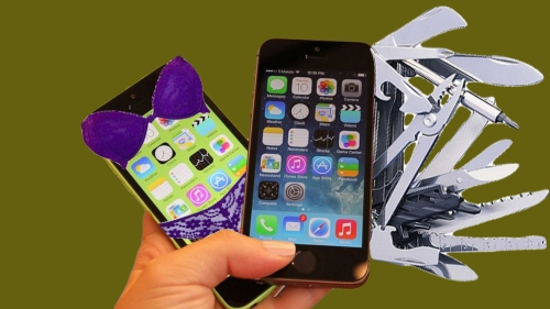 Apple poised to unveil the gimmick-laden iPhone 6c Swiss Army Cell and the high-end, provocative Anatomically Correct iPhone 6s.