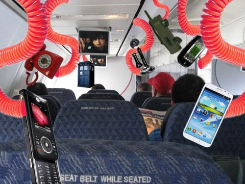 Replacing oxygen masks with phones a win-win for the airlines industry, except in an emergency.