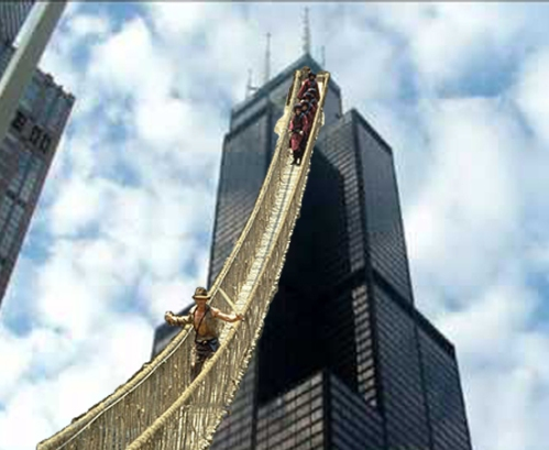 Willis Tower Unveils New Thrill Experience.  (Action Figures Not Included.)