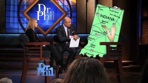 Indiana tells Dr. Phil religious freedom bill was misguided attempt to fit in with popular states, like Oregon, Maryland, and 'that one that's shaped like Zac Efron. God, he's so cute!'